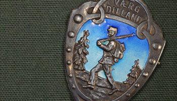 Norwegian Foot March Medal