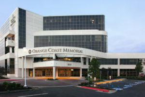 Orange coast memorial hospital facade