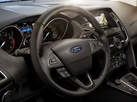 Ford Focus Fastback-Interior2