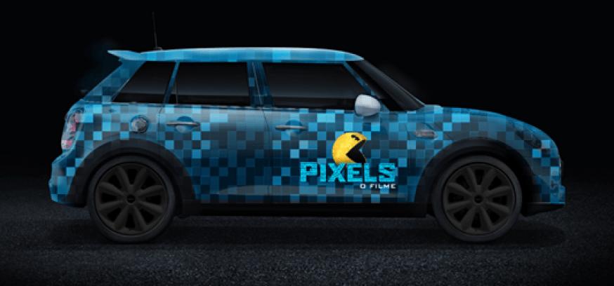 MINI Cooper S chega aos cinemas em Pixels - O Filme3