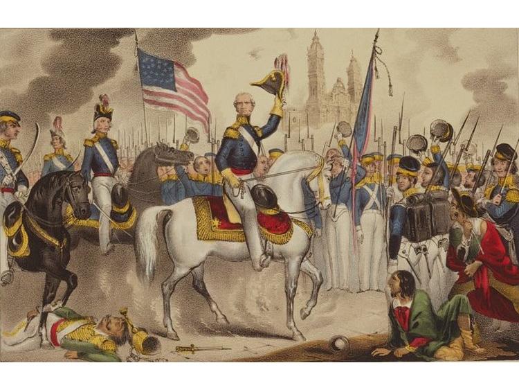 Resultado de imagen de Guerra de 1847 mexicà-americana.