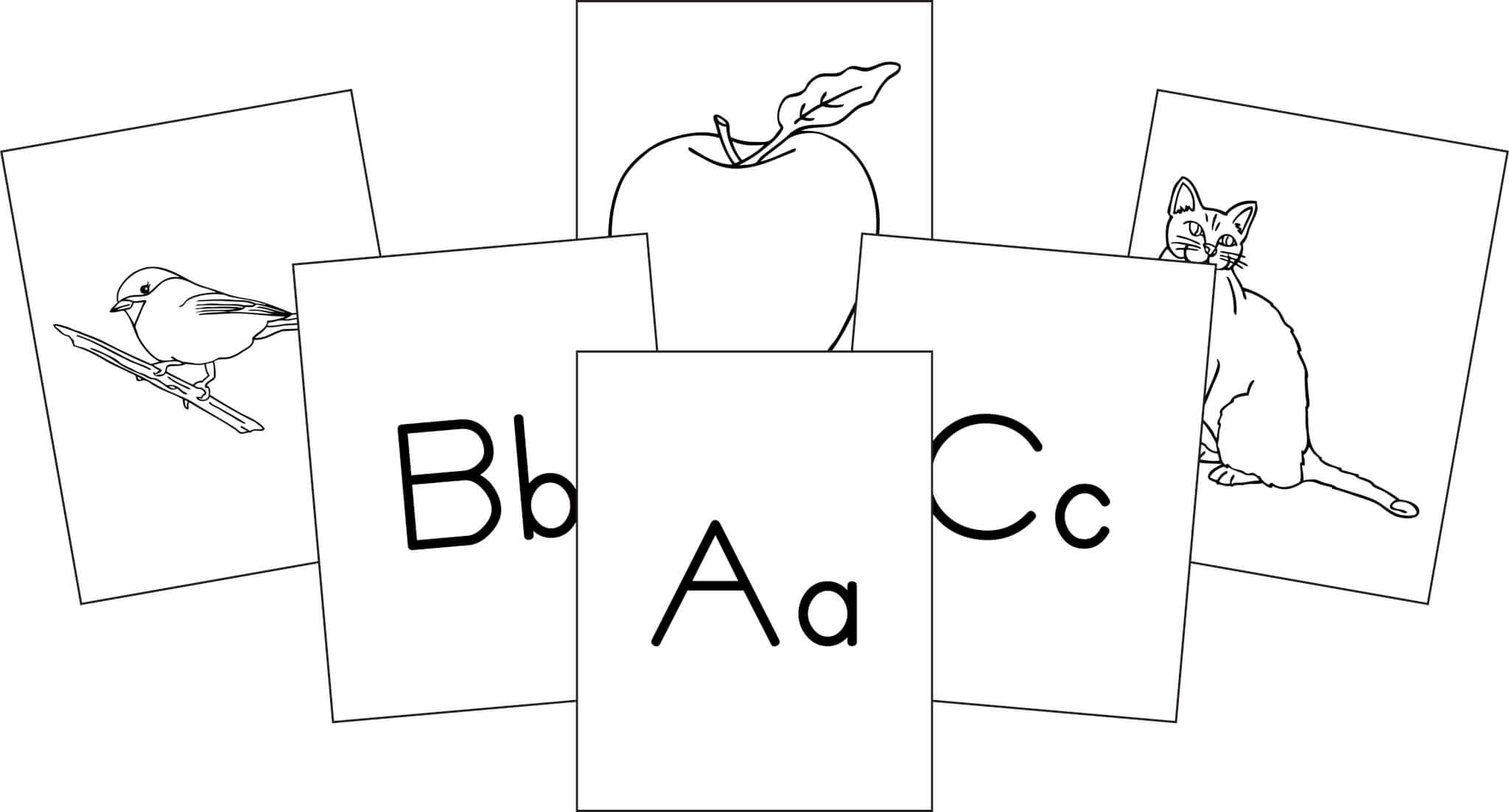 Alphabet Flashcards Memoria Press