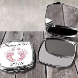 Mummy To Be 2018 MTB 2018 Square Mirror - Mummy To Be 2019 Compact Mirror