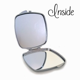 compact mirror square open 1ae891d1 d341 4f44 9427 6f5fb4e8f1f6 - Personalised Name Cute Owl Compact Mirror
