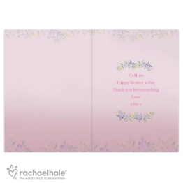 GC00578 4 - Personalised Rachael Hale 'Happy Mother's Day' Card