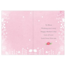 GC00581 3 - Personalised Floral Watercolour Card