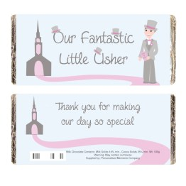 NP051580 1 - Fabulous Little Usher Milk Chocolate Bar