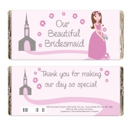 NP051582 1 - Fabulous Bridesmaid Milk Chocolate Bar