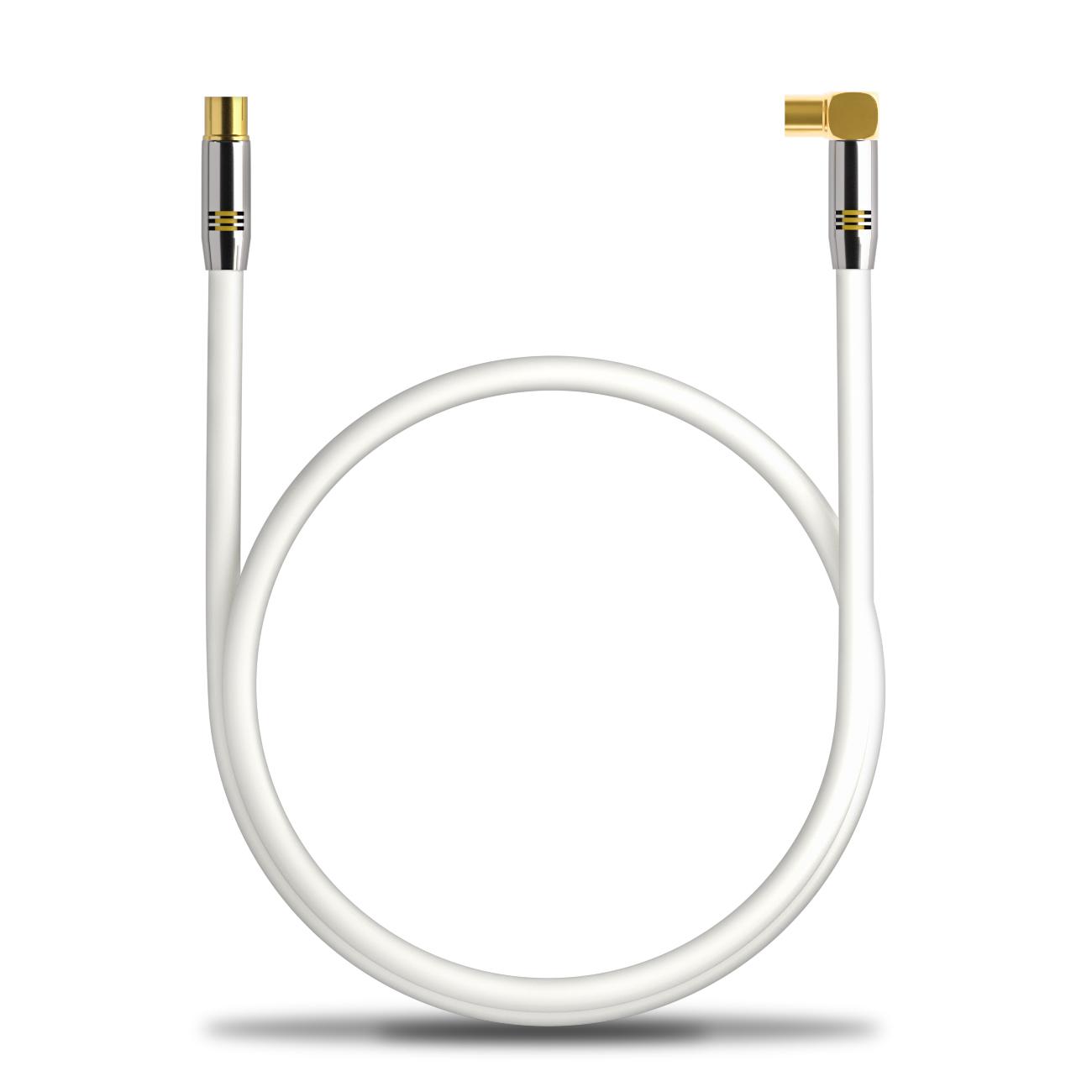 Deleycon Hdtv Tv Antennen Kabel 7 5m