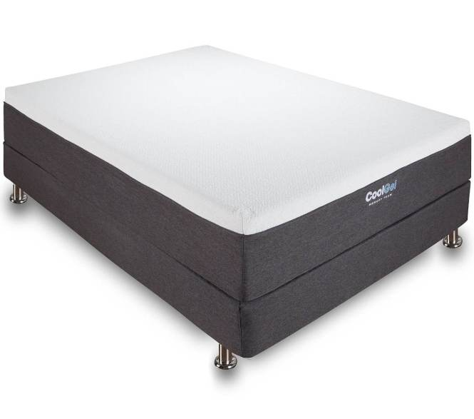 Classic Brands Cool Gel 12 Inch Memory Foam Mattress