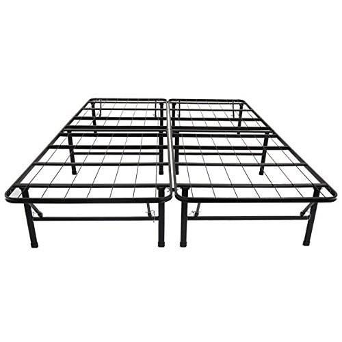 2 Olee Sleep Metal Platform Foundation Bed Frame