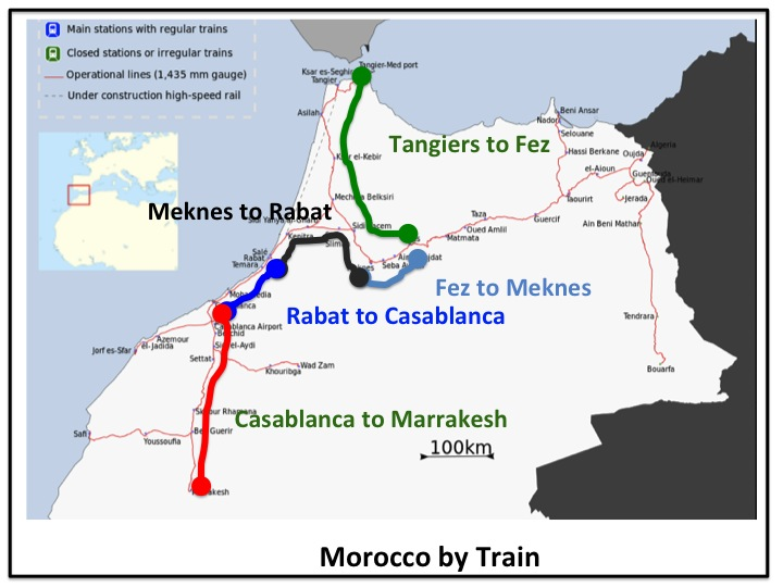 Morocco By Train Memory Point Your Point For Great Memories