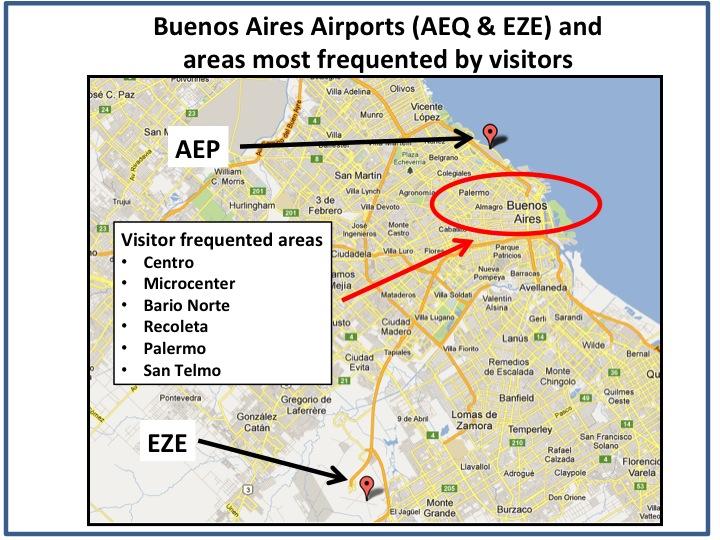 EZE Ministro Pistarini International Airport Buenos Aires