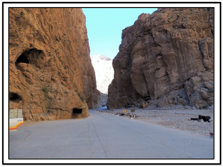 Finally, we reached the entrance to Todra Gorge,