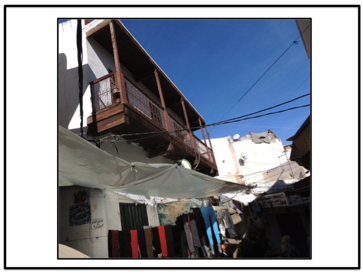 Residences previously occupied by Jews can be seen above the current medina.