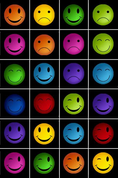 Jeu De Memory A Imprimer Smileys Imprimez Et Decoupez Les Cartes Memozor