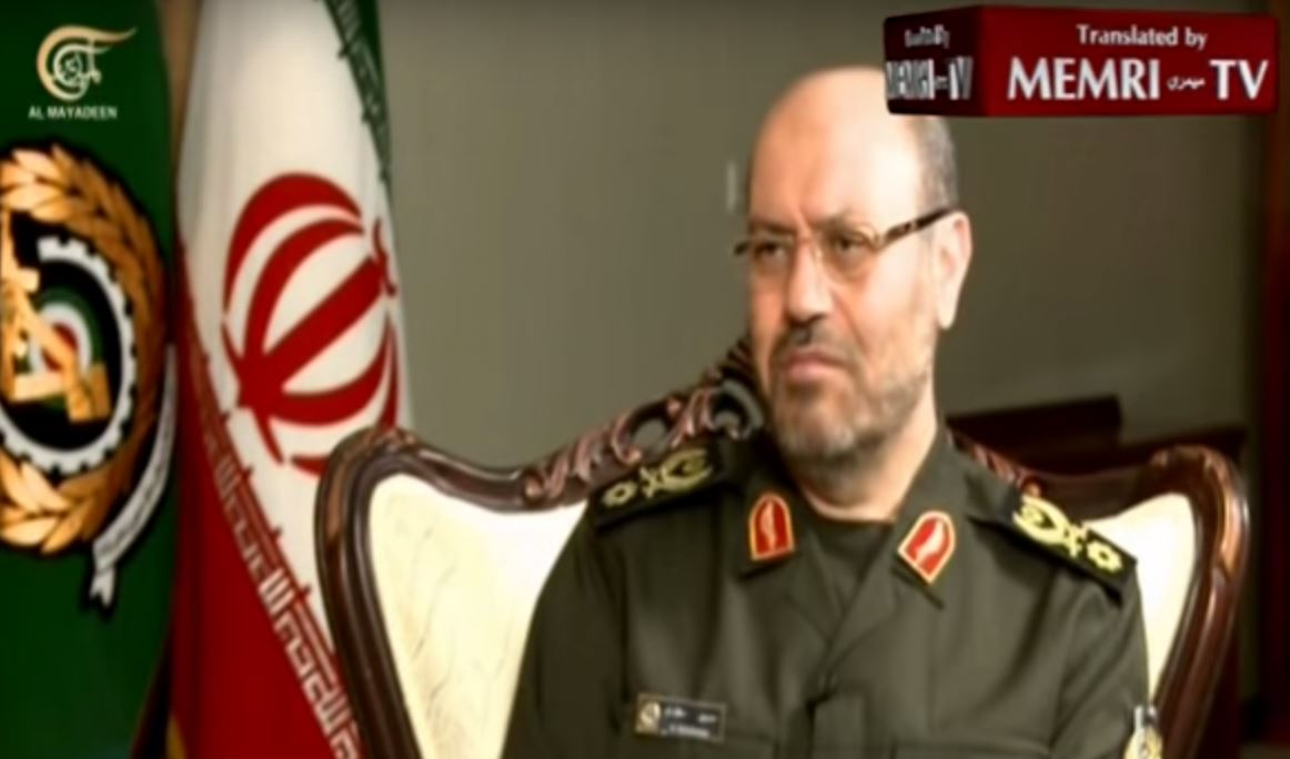 Iranian Defense Minister_ We Will Always Provide Arms to the Resistance against