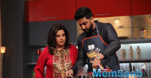 Abhishek Bachchan And Alia Bhatt Cook It Up On Farah Ki Daawat