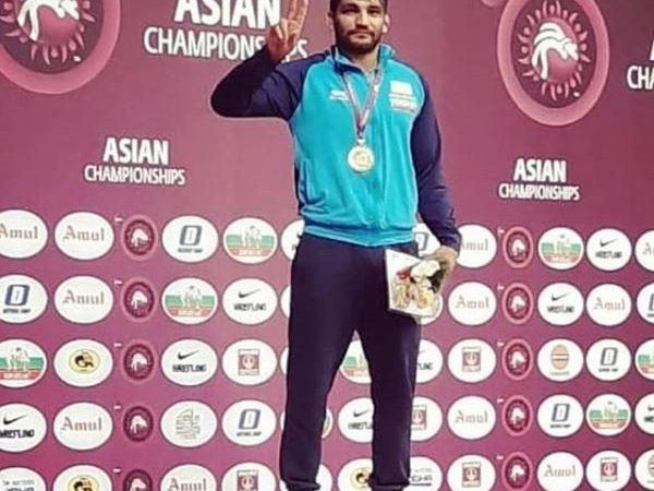 Sunil Kumar wins gold, ends 27-year wait for India in Greco-Roman wrestling