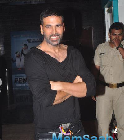 Akshay,Taapsee And Rana At 1st Look Of Baby Film Launch