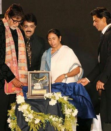 Bachchan Family And SRK At Kolkata International Film Festival 2014