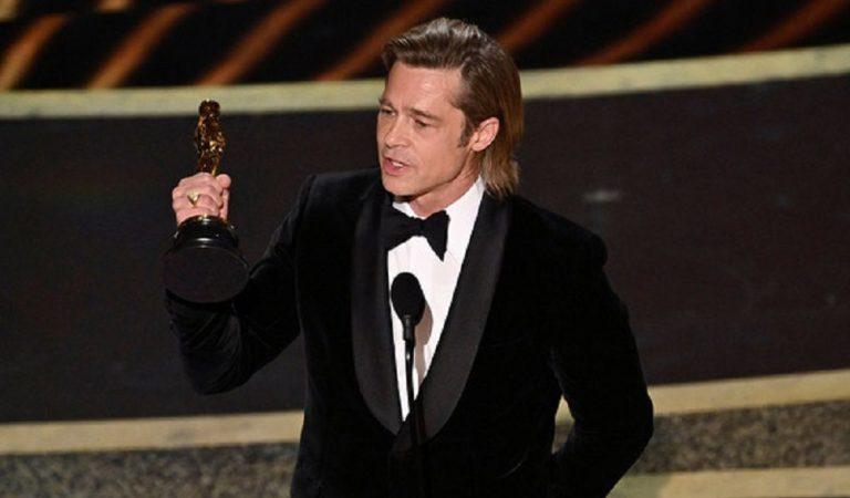 Brad Pitt Finally Wins His First Oscar for Best Actor!