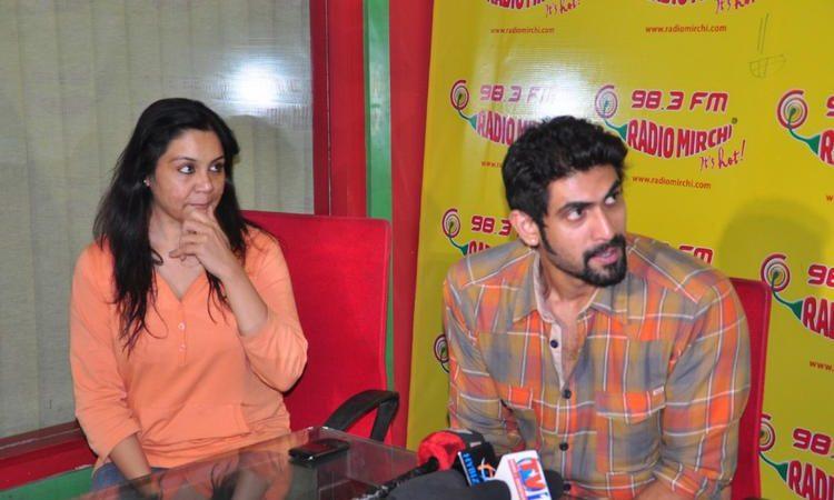 Rana Daggubati At Radio Mirchi Stills