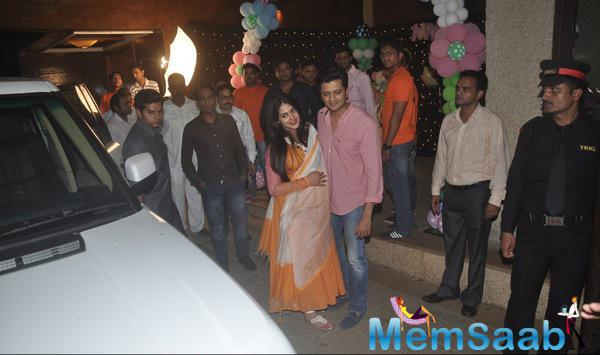 Bolly Celebs At Abhishek And Aishwarya Bachchan Daughter Aaradhya Bachchan Birthday Party