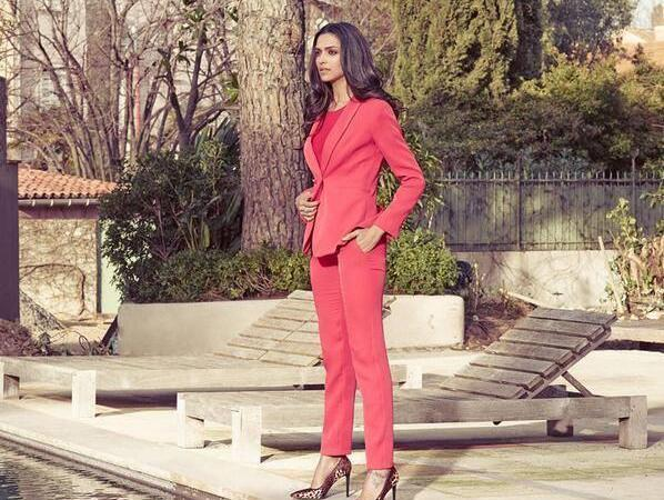 Deepika Padukone For Van Heusen's Summer Luxury Campaign