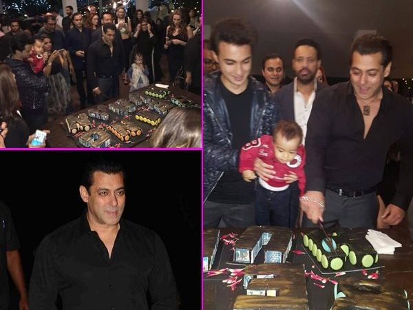 Mouni, Lulia & Sangeeta – Salman Celebrates Birthday With His Favorite Gals!