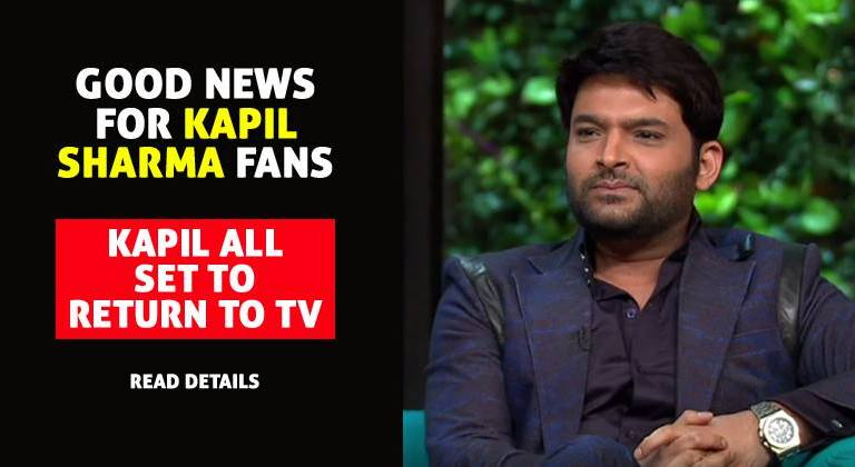 Which TV Show is Set to Bring Back Kapil Sharma to your TV Screens?