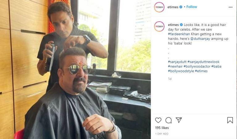 Trishala Dutt is all hearts for papa Sanjay Dutt's new look!