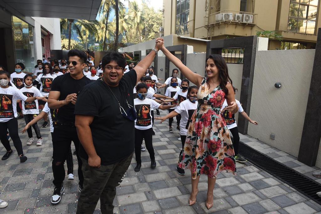 Nora Fatehi Dilbar 1 Billion Views on Youtube Celebration