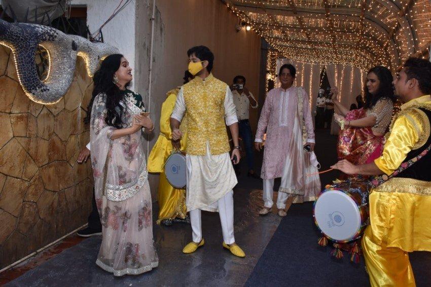 Priyaank Sharma and Shaza Morani's Pre-wedding Bash