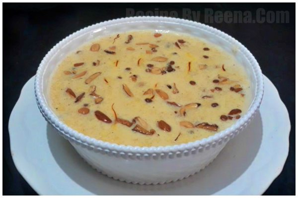 Suji Kheer for Instant Gratification of Sweet Cravings