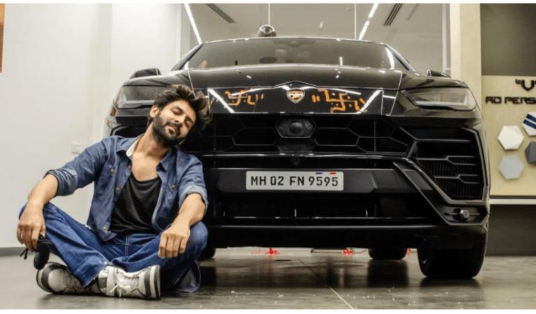 Whoa! Kartik Aaryan is now a proud owner of Lamborghini worth Rs 4.5 crore