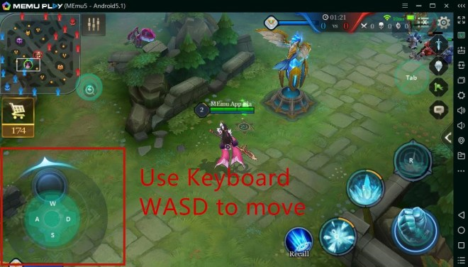 how to set key mapping in arena of valor moba - memu