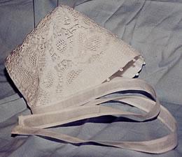 handmade lace hat