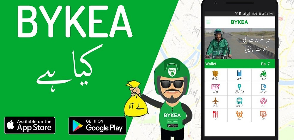Pakistani motorbike-based ride-hailing and logistics startup