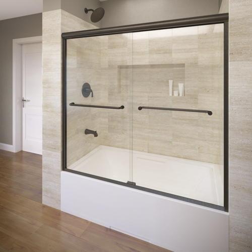 Basco Infinity 4400 Frameless Sliding Tub Enclosure 14