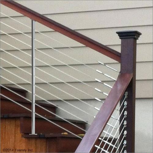 46 Aluminum Intermediate Picket For Stair Railings At | Menards Interior Stair Railing