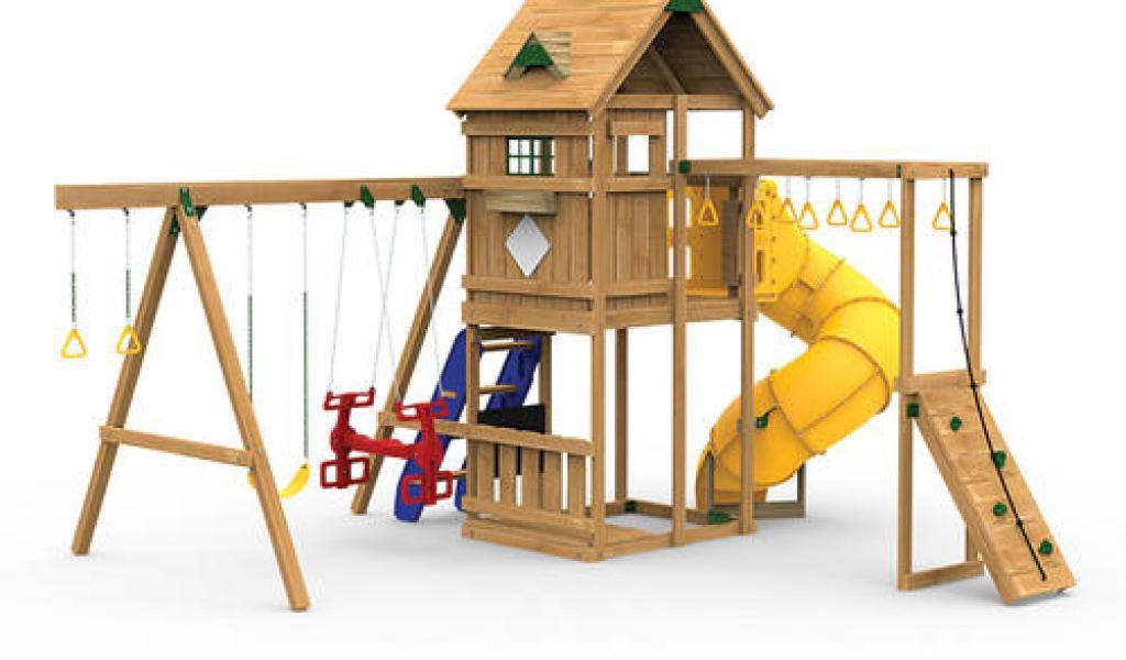 Menards Outdoor Wooden Playsets Home Garden Improvement Design
