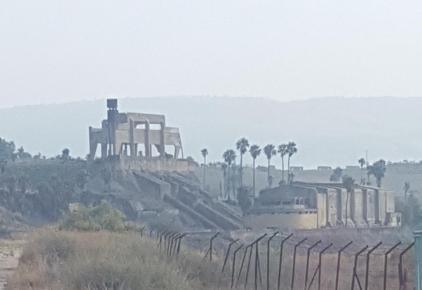 محطة كهرباء  جسر المجامع – فوزي حنا