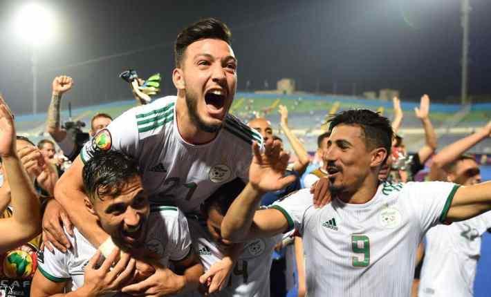 الجزائر انتصرت والجماهير العربية احتفلت