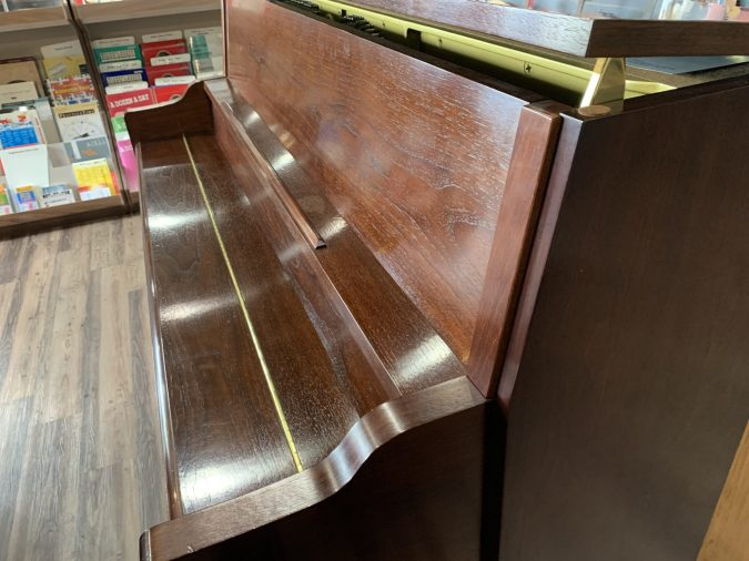 Cable Nelson CN216SW Upright Piano Open Lid View