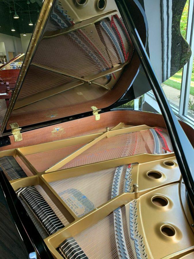 Kawai RX-2 Grand Piano Open Lid View