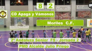 Photo of Mencisport TV | CD Apaga y Vámonos FS 8-2 Moriles CF | 2ª Andaluza Sénior FS