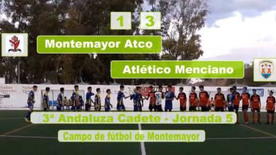 Photo of Mencisport TV | Resumen Montemayor Atco 1-3 Atlético Menciano | 3ª Andaluza Cadete J5