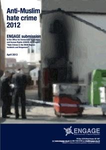 Anti-Muslim Hate Crime 2012