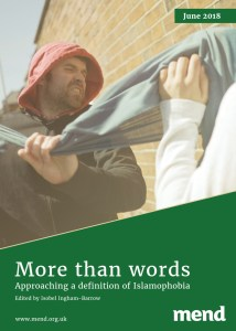 More than words – Approaching a definition of Islamophobia